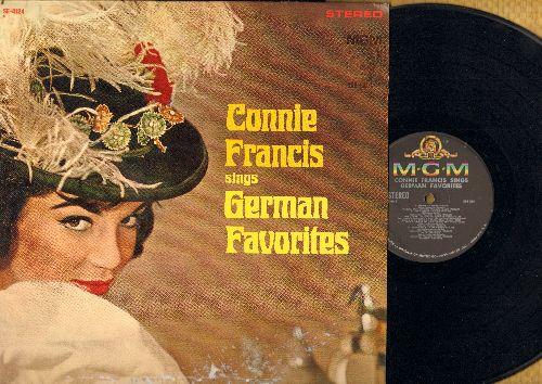 Francis, Connie - German Favorites: Schoner Fremder Mann, Tu Mir Nicht Weh, Paradiso, Lili Marlene, Die Liebe Ist Ein Seltsames Spiel (vinyl STEREO LP record, US Pressing, sung in German) - EX8/VG6 - LP Records