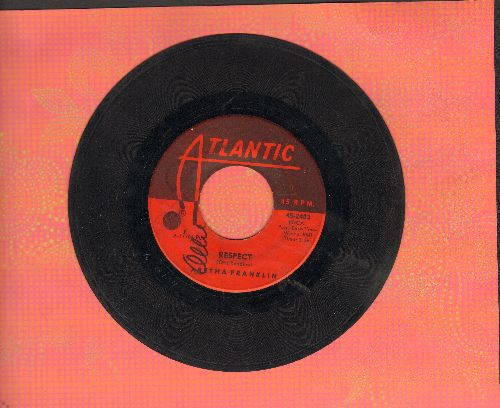 Franklin, Aretha - R-E-S-P-E-C-T (PARTY FAVORITE!)/Dr. Feelgood (wol) - VG7/ - 45 rpm Records