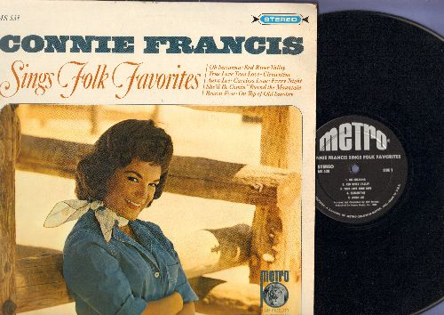 Francis, Connie - Sings Folk Song Favorites: Clementine, On Top Of Old Smokey, Oh Susanna, She'll Be Comin' 'Round The Mountain (vinyl STEREO LP record) - NM9/NM9 - LP Records