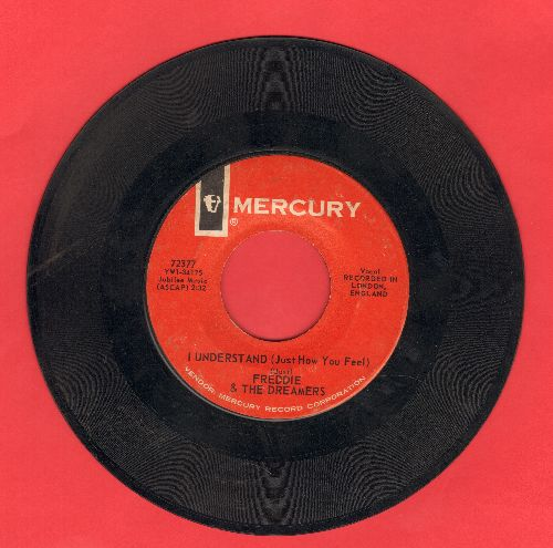 Freddie & The Dreamers - I Understand (Just How You Feel)/I Will - VG7/ - 45 rpm Records