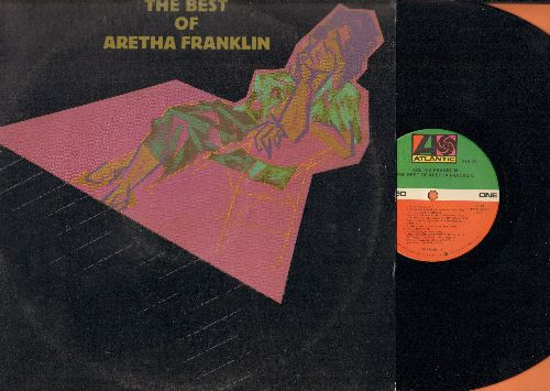Franklin, Aretha - The Best Of: Respect, (You Make Me Feel Like) A Natural Woman, I Say A Little Prayer, Chain Of Fools (vinyl STEREO LP record, 1984 Clumbia House Pressing) - NM9/VG7 - LP Records