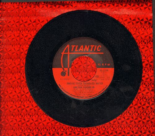Franklin, Aretha - Bridge Over Troubled Water/Brand New Me (minor wol) - EX8/ - 45 rpm Records