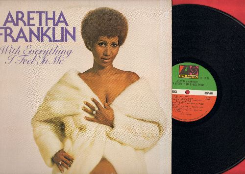 Franklin, Aretha - With Everything I Feel In Me: Don't Go Breaking My Heart, Without Love, You'll Never Get To Heaven, You Move Me (vinyl STEREO LP record) - NM9/VG7 - LP Records