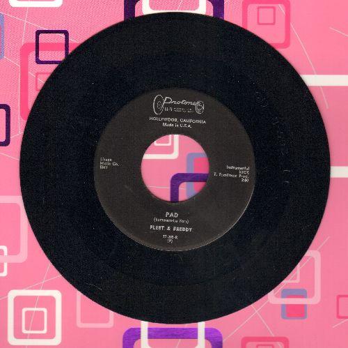 Fleet & Freddy - Pad/Freddy's Polka (RARE vintage Beatnik 2-sider!) - NM9/ - 45 rpm Records