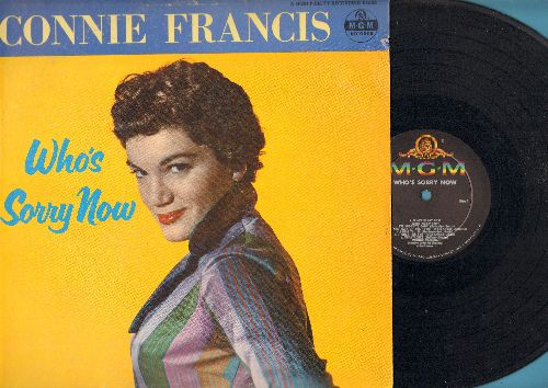 Francis, Connie - Who's Sorry Now: Heartaches, I Miss You So, How Deep Is The Ocean, My Melancholy Baby, You Always Hurt The One You Love (vinyl MONO LP record) - VG7/VG7 - 45 rpm Records