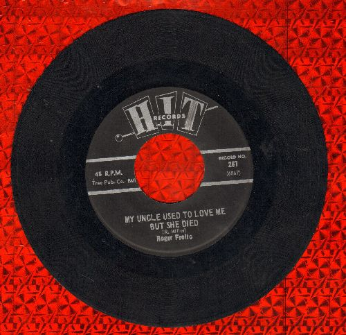 Frolic, Roger - My Uncle Used To Love Me But She Died/Almost Persuaded (by Leroy Jones on flip-side) (contemporary cover versions) - EX8/ - 45 rpm Records