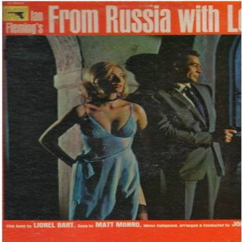 Monro, Matt - From Russia With Love: Unchained Melody, Friendly Persuasion, Exodus, Love Is A Many Splendored Thing (vinyl MONO LP record) - EX8/VG7 - LP Records