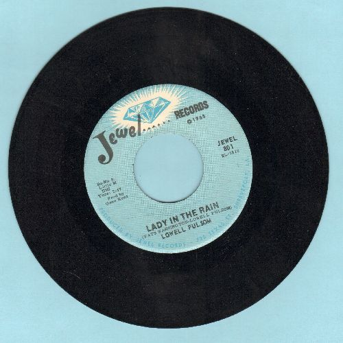 Fulsom, Lowell - Lady In The Rain/Letter Home - NM9/ - 45 rpm Records