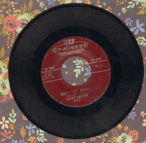 Fuller, Jerry - Betty My Angel/Memories Of You - EX8/ - 45 rpm Records