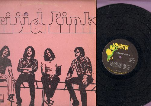 Frijid Pink - Frijid Pink: House Of The Rising Sun, God Gave Me You, Tell Me Why, Crying Shame, End Of The Line (vinyl STEREO LP record) - VG7/G5 - LP Records