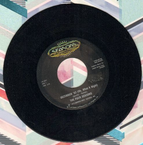 Four Seasons - December, 1963 (Oh, What A Night)/Who Loves You - EX8/ - 45 rpm Records