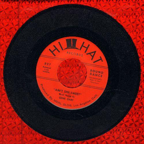 Garf, Gene & His Orchestra - Ain't She Sweet/Mood Indigo - M10/ - 45 rpm Records