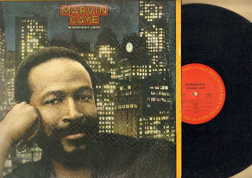 Gaye, Marvin - Midnight Love: Sexual Healing, Midnight Lady, Rockin' After Midnight (vinyl STEREO LP record) - EX8/VG6 - LP Records
