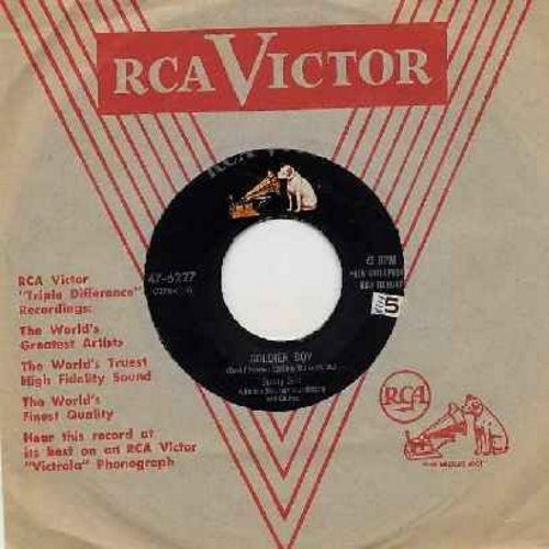 Gale, Sunny - Soldier Boy/Certainly Baby (with RCA company sleeve) - VG7/ - 45 rpm Records