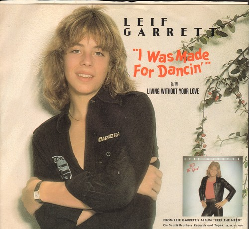 Garrett, Leif - I Was Made For Dancin'/Since You Left Me (with picture sleeve) - NM9/EX8 - 45 rpm Records