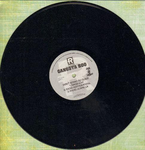 Gangsta Boo - Don't Stand So Close (3 Different Extended Tracks)/Nasty Trick/Suck A Little Di*k (12 inch vinyl Maxi Single, RARE DJ advance pressing) - NM9/ - Maxi Singles