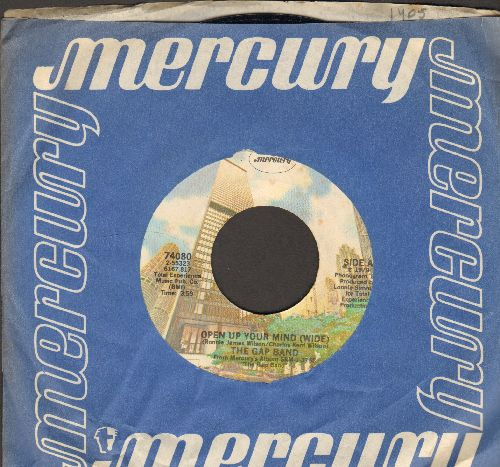 Gap Band - Open Up Your Mind (Wide)/I Can Sing (with Mercury company sleeve) - EX8/ - 45 rpm Records