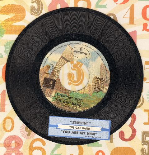 Gap Band - Steppin' (Out)/You Are My High (with juke box label) - M10/ - 45 rpm Records