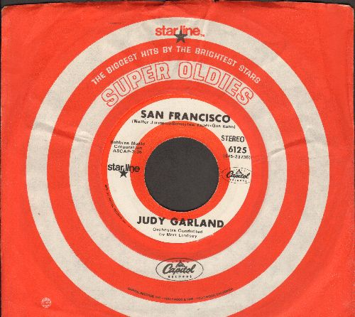 Garland, Judy - San Francisco/Chicago (double-hit re-issue with Capitoil company sleeve) - NM9/ - 45 rpm Records