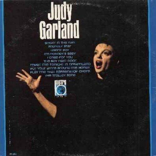 Garland, Judy - Judy Garland: Singing In The Rain, The Trolley Song, Danny Boy, The Boy Next Door, I'm Nobody's Baby, Friendly Star (vinyl MONO LP record) - NM9/EX8 - LP Records