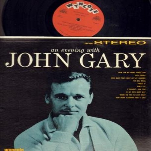Gary, John - An Evening With John Gary: How Many Teardrops Must I Shed, In My Own Quiet Way, The Bell Rings, How Can My Heart Forget You, Little People (vinyl STEREO LP record) - NM9/NM9 - LP Records