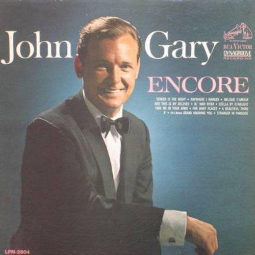 Gary, John - Encore: Ol' Man River, Starnger In Paradise, Melodie D'Amour, Stella By Starlight (vinyl MONO LP record) - M10/VG7 - LP Records