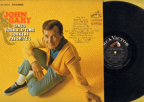 Gary, John - John Gary Sings Your All-Time Country Favorites: Love Me Tender, Oh Lonesome Me, Tennessee Waltz, I Can't Stop Loving You, You Don't Know Me (vinyl STEREO LP record) - NM9/NM9 - LP Records