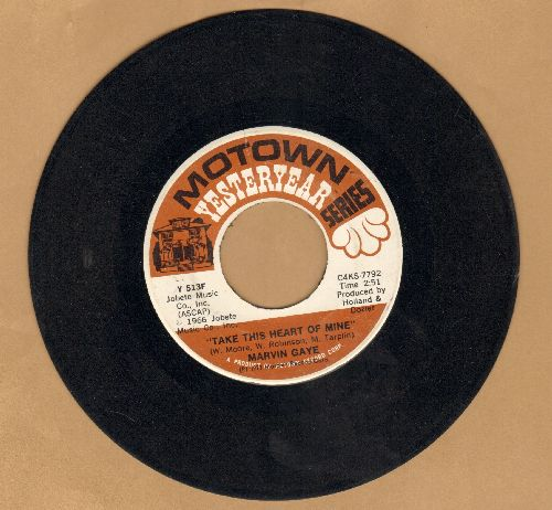 Gaye, Marvin - Take This Heart Of Mine/Baby Don't You Do It (double-hit re-issue) - VG7/ - 45 rpm Records