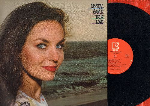 Gayle, Crystal - True Love: Everything I Own, Easier Said Than Done, Our Love Is On The Faultline (vinyl STEREO LP record) - NM9/EX8 - LP Records