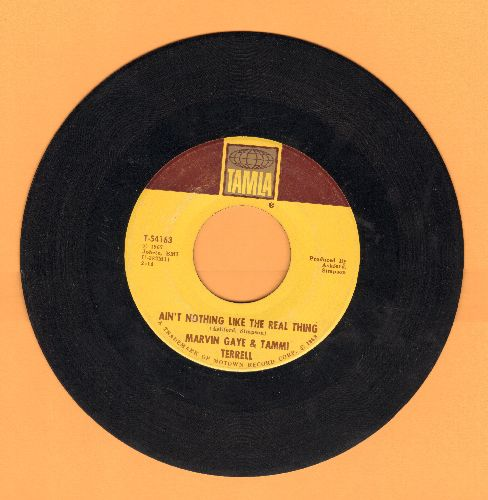 Gaye, Marvin & Tammi Terrell - Ain't Nothing Like The Real Thing/Little Old Boy, Little Ole Girl (bb) - VG6/ - 45 rpm Records