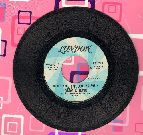 Gary & Dave - Could You Ever Love Me Again/Where Do We Go From Here - VG7/ - 45 rpm Records