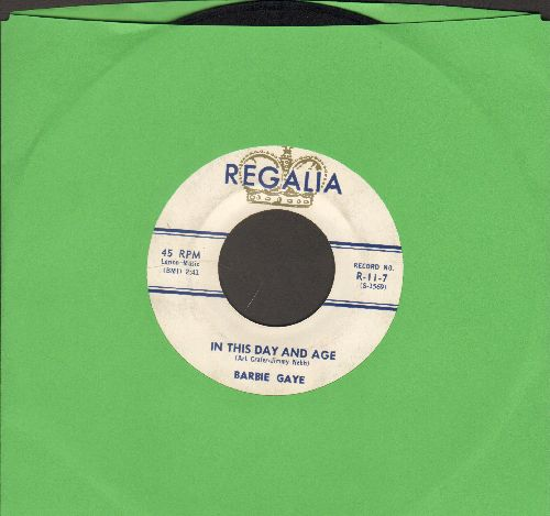 Gaye, Barbie - Love Me A Little/In This Day And Age - VG7/ - 45 rpm Records