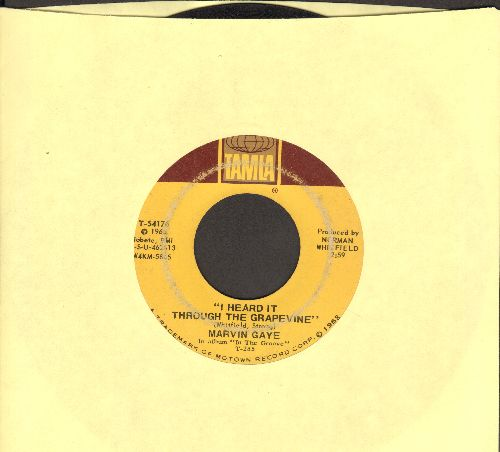 Gaye, Marvin - I Heard It Through The Grapevine/You're What's Happening  - VG6/ - 45 rpm Records