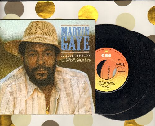 Gaye, Marvin - Sanctified Lady - A Special Limited Edition 2 vinyl 45rpm Gatefold Package including Sexual Healing (British Pressing) - NM9/NM9 - 45 rpm Records