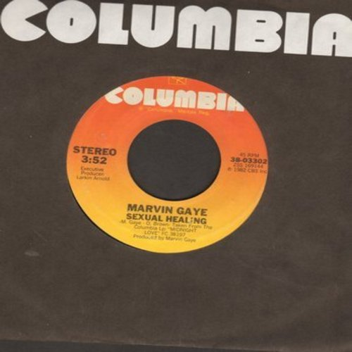 Gaye, Marvin - Sexual Healing/Sexual Healing (Instrumental)  - NM9/ - 45 rpm Records