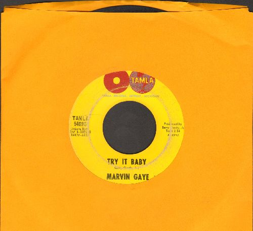 Gaye, Marvin - Try It Baby/If My Heart Could Sing - G5/ - 45 rpm Records