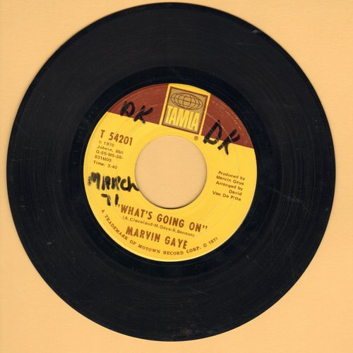Gaye, Marvin - What's Going On/God Is Love (wol) - EX8/ - 45 rpm Records