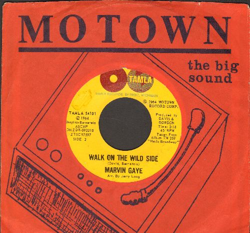 Gaye, Marvin - Walk On The Wild Side/Baby Don't You Do It (with RARE vintage Motown company sleeve) - EX8/ - 45 rpm Records