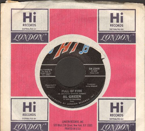 Green, Al - Full Of Fire/Could I Be The One (MINT condition with Hi company sleeve) - M10/ - 45 rpm Records