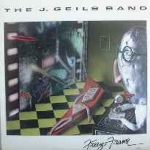 Geils, J. Band - Freeze-Frame: Centerfold, Angel In Blue, Rage In The Cage, Piss On The Wall - NM9/EX8 - LP Records