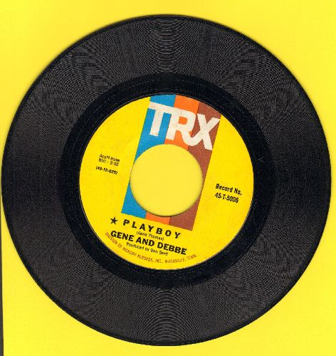 Gene & Debbe - Playboy/I'll Come Running  - EX8/ - 45 rpm Records