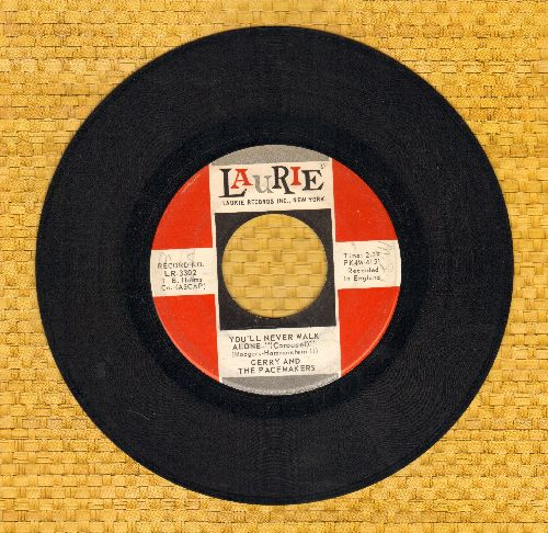 Gerry & The Pacemakers - You'll Never Walk Alone/How Do You Do It?  - VG7/ - 45 rpm Records