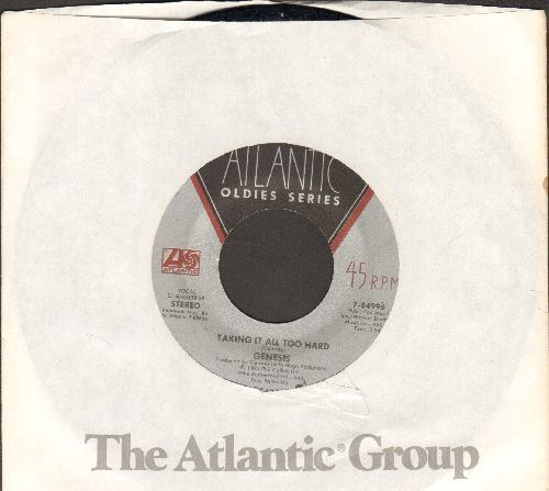 Genesis - Taking It All Too Hard/That's All (double-hit reissue with Atlantic company sleeve) - EX8/ - 45 rpm Records