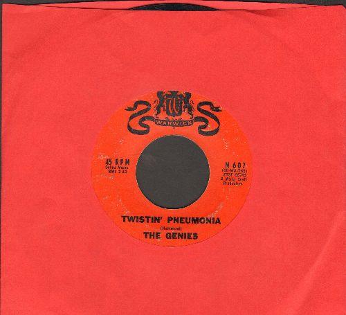 Genies - Twistin' Pneumonia/Just Like The Bluebird - EX8/ - 45 rpm Records