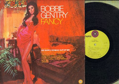 Gentry, Bobbie - Fancy: He Made A Woman Out Of Me, I'll Never Fall In Love Again, Wedding Bell Blues (vinyl STEREO LP record) - NM9/NM9 - LP Records