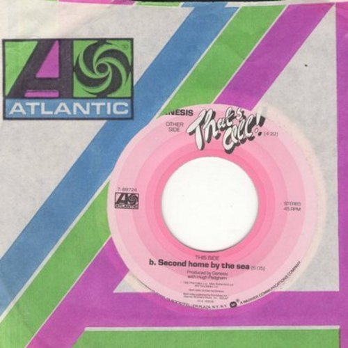 Genesis - That's All/Second Home By The Sea - NM9/ - 45 rpm Records