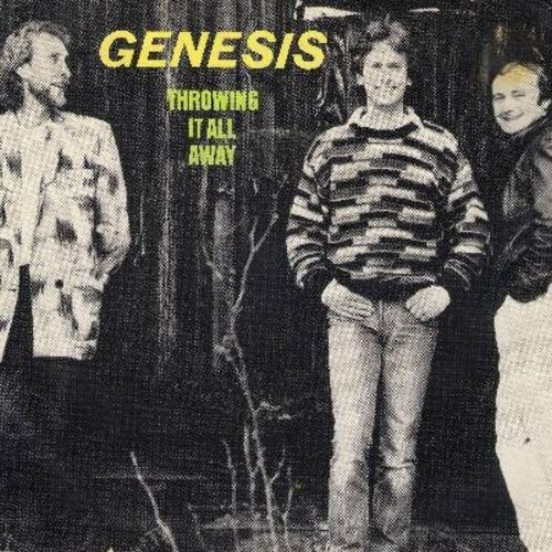 Genesis - Throwing It All Away/Do The Neurotic (with picture sleeve) - NM9/EX8 - 45 rpm Records
