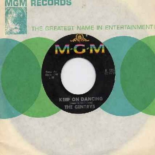 Gentrys - Keep On Dancing/Make Up Your Mind (with original company sleeve) - VG7/ - 45 rpm Records
