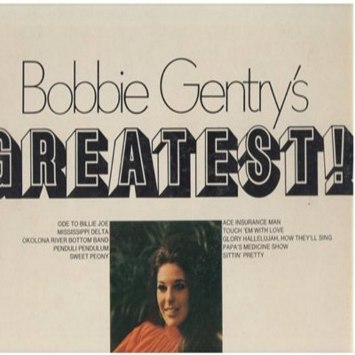 Gentry, Bobbie - Bobbie Gentry's Greatest: Ode To Billy Joe, Mississippi Delta, Pap's Medicine Show, Sittin' Pretty (vinyl STEREO LP record, Starline series with gate-fold cover) - NM9/EX8 - LP Records