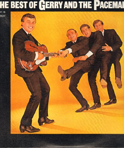 Gerry & The Pacemakers - The Best Of: I Like It, How Do You Do It?, Ferry Cross The Mersey, You'll Never Walk Alone, Chills, Don't Let The Sun Catch You Crying (vinyl LP record, re-issue of vintage recordings) - NM9/NM9 - LP Records